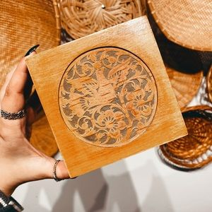 Engraved Wooden Box✨